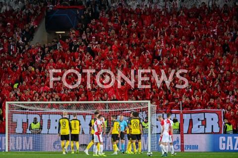 AGENCJA FOTONEWS - 02.10.2019 - PRAGAPILKA NOZNA - MECZ FAZY GRUPOWEJ LIGI MISTRZOWSLAVIA PRAGA - BORUSSIA DORTMUNDFootball - Champions League Group F match(Slavia Prague - Borussia Dortmund)N/Z KIBICE SLAVIA PRAGAFOT MATEUSZ SLODKOWSKI / FOTONEWS
