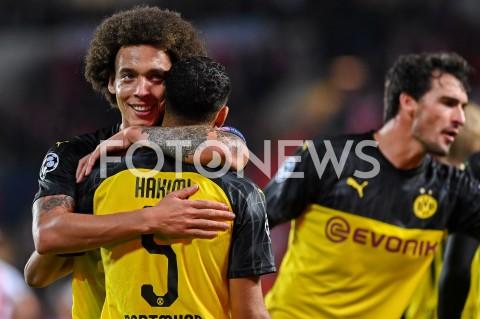 AGENCJA FOTONEWS - 02.10.2019 - PRAGAPILKA NOZNA - MECZ FAZY GRUPOWEJ LIGI MISTRZOWSLAVIA PRAGA - BORUSSIA DORTMUNDFootball - Champions League Group F match(Slavia Prague - Borussia Dortmund)N/Z FOT MATEUSZ SLODKOWSKI / FOTONEWS