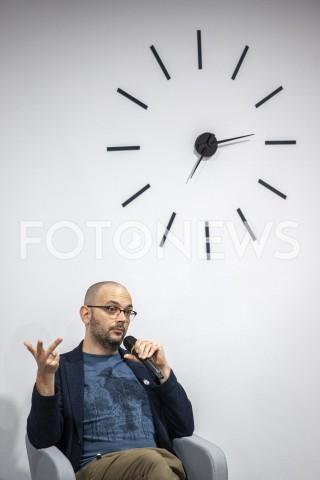 AGENCJA FOTONEWS - 06.10.2019 WARSZAWASPOTKANIE Z FILIPEM SPRINGEREMN/Z FILIP SPINGERFOT GRZEGORZ KRZYZEWSKI / FOTONEWS
