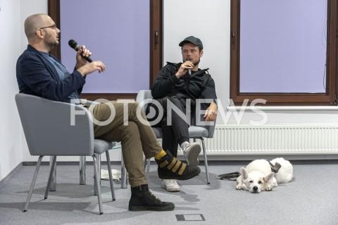 AGENCJA FOTONEWS - 06.10.2019 WARSZAWASPOTKANIE Z FILIPEM SPRINGEREMN/Z FILIP SPRINGER WOJCIECH SZOTFOT GRZEGORZ KRZYZEWSKI / FOTONEWS