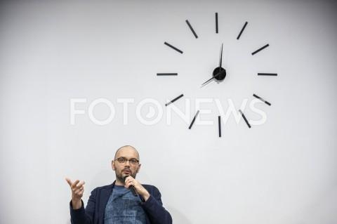 AGENCJA FOTONEWS - 06.10.2019 WARSZAWASPOTKANIE Z FILIPEM SPRINGEREMN/Z FILIP SPRINGERFOT GRZEGORZ KRZYZEWSKI / FOTONEWS