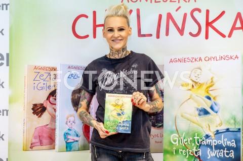 Promocja książki Agnieszki Chylińskiej w Warszawie