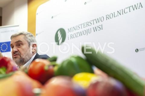 Konferencja w Ministerstwie Rolnictwa w Warszawie