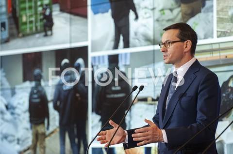 Konferencja nt. narkotyków w Kancelarii Premiera w Warszawie