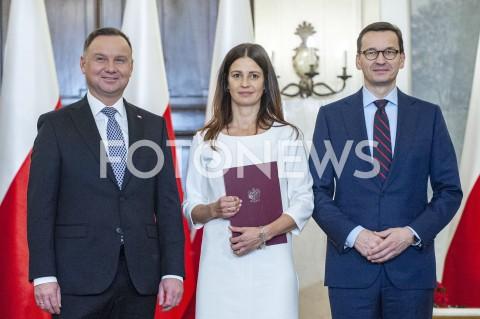 Powołanie nowej minister sportu w Warszawie
