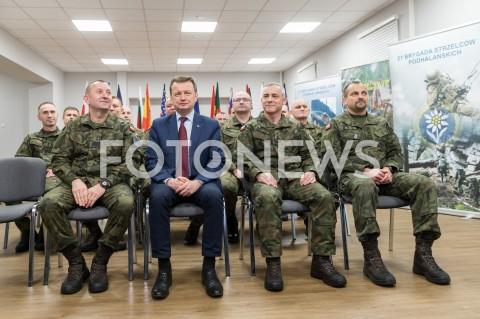 21. Brygada Strzelców Podhalańskich przejęła dyżur w szpicy NATO w Rzeszowie
