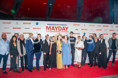 """Premiera filmu """"Mayday"""" w Warszawie"""