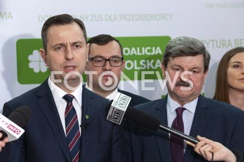 Konferencja po Radzie Krajowej PSL w Warszawie