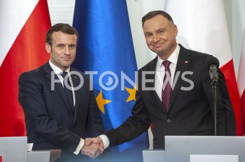 Wizyta prezydenta Francji w Warszawie