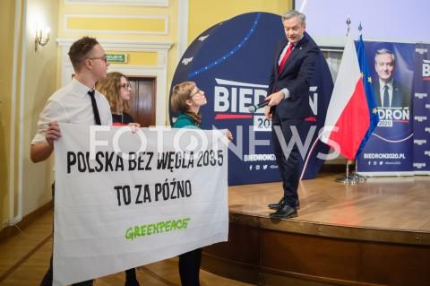 Spotkanie Roberta Biedronia z wyborcami w Warszawie