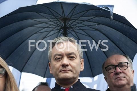 Kampania wyborcza Roberta Biedronia w Warszawie