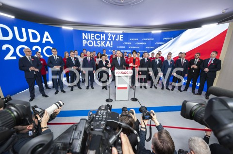 Prezentacja sztabu wyborczego Andrzeja Dudy w Warszawie
