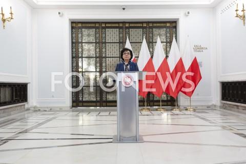 Spotkanie Prezesa NIK z Marszałek Sejmu w Warszawie