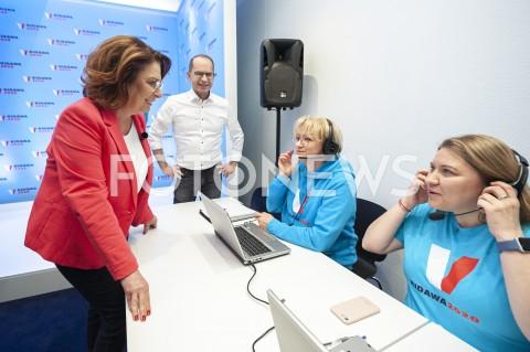 Otwarcie siedziby Centrum Wolontariatu z udziałem Małgorzaty Kidawy Błońskiej w Warszawie