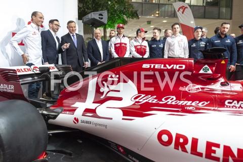 Konferencja PKN Orlen i Alfa Romeo Racing Team w Warszawie