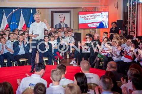 Konwencja wyborcza Roberta Biedronia w Warszawie
