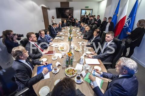 Posiedzenie Rady Bezpieczeństwa Narodowego w Warszawie