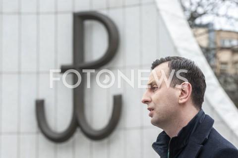 AGENCJA FOTONEWS - 20.03.2020 WARSZAWAKONFERENCJA WLADYSLAWA KOSINIAKA KAMYSZAN/Z WLADYSLAW KOSINIAK KAMYSZ POLSKA WALCZACAFOT GRZEGORZ KRZYZEWSKI / FOTONEWS