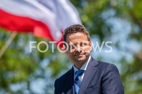 Wizyta Rafała Trzaskowskiego w Gdańsku
