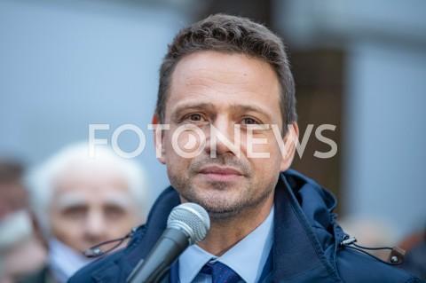 Wizyta Rafała Trzaskowskiego w Łodzi