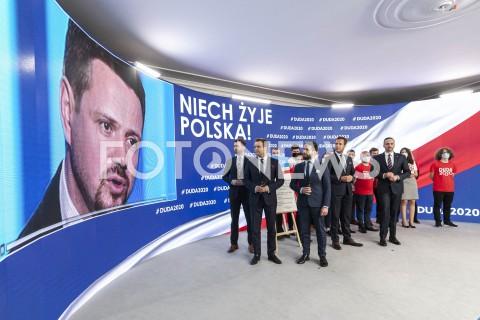 Konferencja sztabu Andrzeja Dudy w Warszawie
