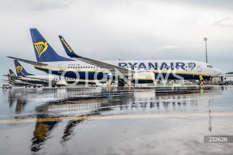 Lotnisko w Modlinie wznowiło działalność po zniesieniu ograniczeń
