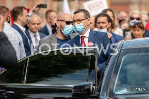 Wizyta premiera Mateusza Morawieckiego w Gdańsku