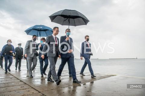 Wizyta premiera Mateusza Morawieckiego w Gdyni