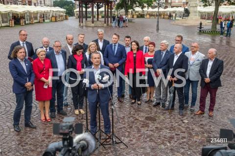 Konferencja prezydentów miast po debacie samorządowej w Rzeszowie