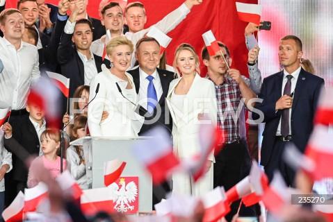 Wieczór wyborczy Andrzeja Dudy w Pułtusku
