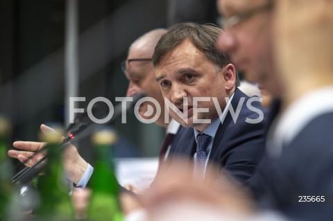 Posiedzenie sejmowej komisji ws. wotum nieufności wobec ministra sprawiedliwości Zbigniewa Ziobry w Warszawie