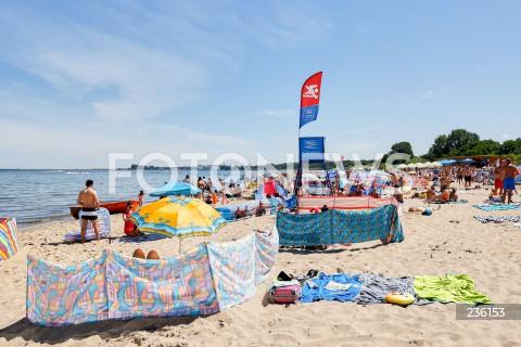 Polacy wypoczywają nad Bałtykiem