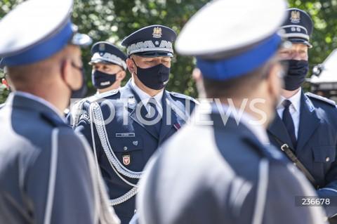 25.07.2020 WARSZAWA<br />SWIETO POLICJI <br />N/Z NADINSPEKTOR MICHAL LEDZION<br />