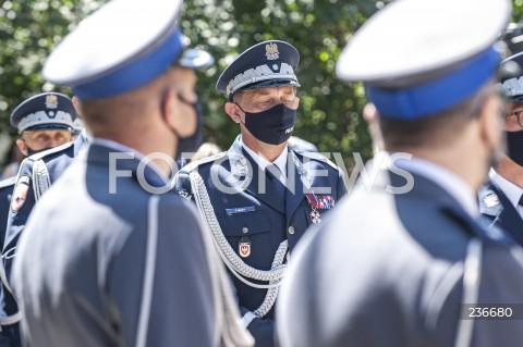 25.07.2020 WARSZAWA<br />SWIETO POLICJI <br />N/Z NADINSPEKTOR PIOTR MAKA<br />