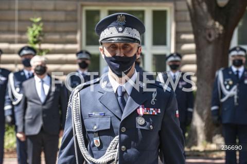 25.07.2020 WARSZAWA<br />SWIETO POLICJI <br />N/Z NADINSPEKTOR ROBERT SZEWC<br />