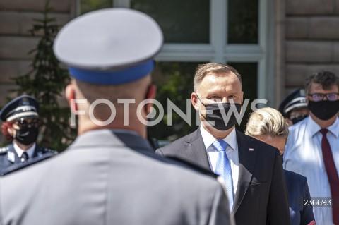 Święto Policji z udziałem Prezydenta RP Andrzeja Dudy w Warszawie