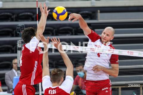 Mecz: sparing wewnętrzny siatkarzy reprezentacji Polski w Łodzi