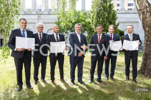 Konferencja ministerstwa rolnictwa w Warszawie
