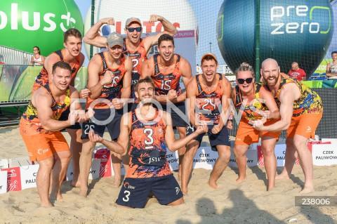 Siatkarze Jastrzębskiego Węgla zwyciężyli w turnieju PreZero Grand Prix w Gdańsku