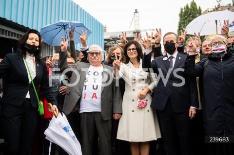 Obchody 40. rocznicy Porozumień Sierpniowych w Gdańsku