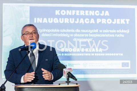 """Inauguracja projektu """"Droga z klasą"""" w Warszawie"""