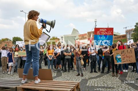 Młodzieżowy Strajk Klimatyczny w Gdańsku