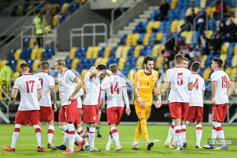 13.10.2020 GDYNIA<br />PILKA NOZNA - KWALIFIKACJE DO MISTRZOSTW EUROPY U-21<br />POLSKA - BULGARIA<br />Football - U-21 European Championships 2021 Qualifiers<br />Poland - Bulgaria<br />N/Z KAMIL GRABARA<br />