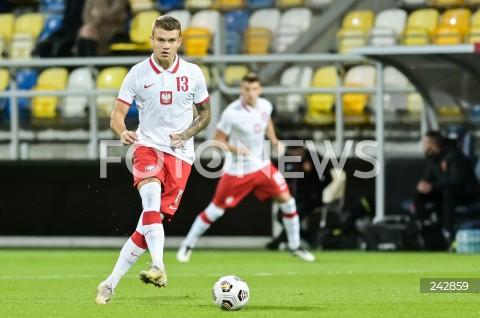 13.10.2020 GDYNIA<br />PILKA NOZNA - KWALIFIKACJE DO MISTRZOSTW EUROPY U-21<br />POLSKA - BULGARIA<br />Football - U-21 European Championships 2021 Qualifiers<br />Poland - Bulgaria<br />N/Z KAMIL PIATKOWSKI SYLWETKA<br />