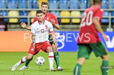 13.10.2020 GDYNIA<br />PILKA NOZNA - KWALIFIKACJE DO MISTRZOSTW EUROPY U-21<br />POLSKA - BULGARIA<br />Football - U-21 European Championships 2021 Qualifiers<br />Poland - Bulgaria<br />N/Z PATRYK KLIMALA<br />