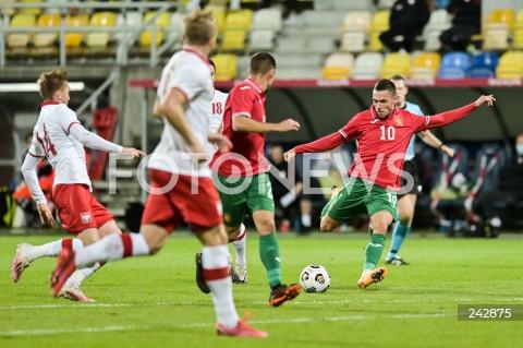 13.10.2020 GDYNIA<br />PILKA NOZNA - KWALIFIKACJE DO MISTRZOSTW EUROPY U-21<br />POLSKA - BULGARIA<br />Football - U-21 European Championships 2021 Qualifiers<br />Poland - Bulgaria<br />N/Z STANISLAV IVANOV<br />