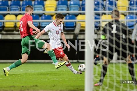 13.10.2020 GDYNIA<br />PILKA NOZNA - KWALIFIKACJE DO MISTRZOSTW EUROPY U-21<br />POLSKA - BULGARIA<br />Football - U-21 European Championships 2021 Qualifiers<br />Poland - Bulgaria<br />N/Z MACIEJ ROSOLEK<br />