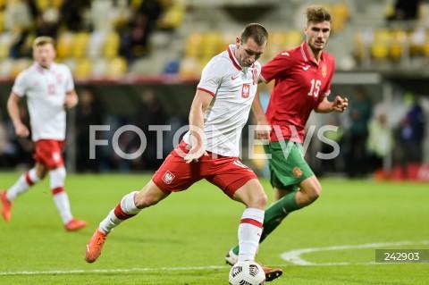 13.10.2020 GDYNIA<br />PILKA NOZNA - KWALIFIKACJE DO MISTRZOSTW EUROPY U-21<br />POLSKA - BULGARIA<br />Football - U-21 European Championships 2021 Qualifiers<br />Poland - Bulgaria<br />N/Z PAWEL TOMCZYK<br />