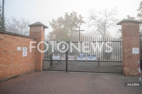 Zamknięte cmentarze w Warszawie