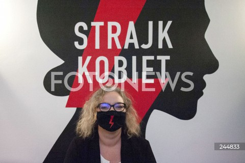 Konferencja Obywatelskiego Strajku Kobiet w Warszawie